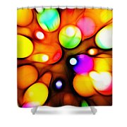 Ballons Shower Curtain