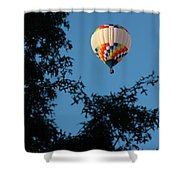 Balloon-6992 Shower Curtain