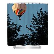 Balloon-7058 Shower Curtain