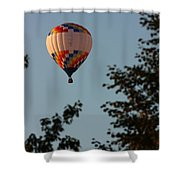 Balloon-7097 Shower Curtain