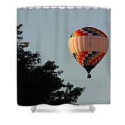 Balloon-7105 Shower Curtain
