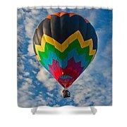 Balloon At Sunrise Shower Curtain