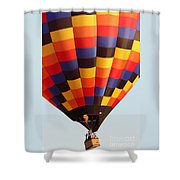 Balloon-color-7277 Shower Curtain