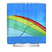 Balloon Fantasy 45 Shower Curtain