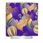 Balloon Fantasy Shower Curtain