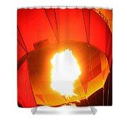 Balloon-glow-7917 Shower Curtain