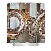 Balloon Love Shower Curtain
