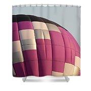 Balloon-purple-7457 Shower Curtain