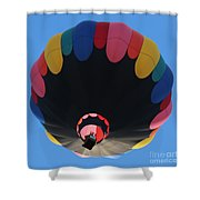 Balloon Square 1 Shower Curtain