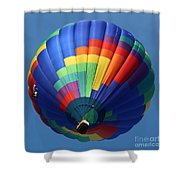 Balloon Square 2 Shower Curtain