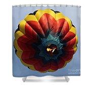 Balloon Square 3 Shower Curtain