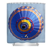 Balloon Square 4 Shower Curtain