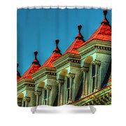 Balloon Top Shower Curtain