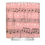 Balloons And Music Shower Curtain