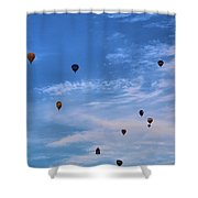 Balloons Galore Shower Curtain