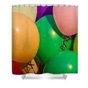Balloons Horizontal Shower Curtain