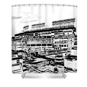 Ballpark Shower Curtain