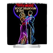 Ballroom Dancing Sign Shower Curtain