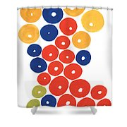 Balls Shower Curtain