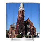 Ballston Spa Church Shower Curtain