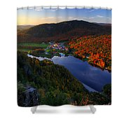 Balsams Sunset Shower Curtain