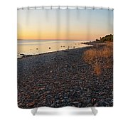 Baltic Sea Coast Shower Curtain