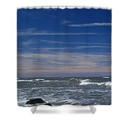 Baltic Sea Shower Curtain