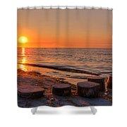 Baltic Sun Shower Curtain