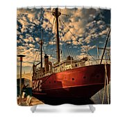 Baltimore Bay  Shower Curtain