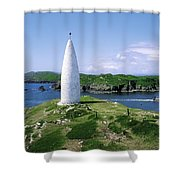Baltimore Beacon Shower Curtain