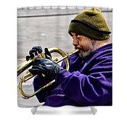 Baltimore Blues Shower Curtain