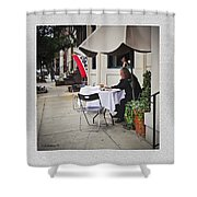 Baltimore Cafe Shower Curtain