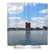 Baltimore Harbor Shower Curtain