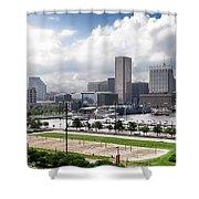 Baltimore Maryland Shower Curtain