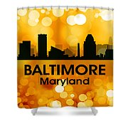 Baltimore Md 3 Shower Curtain
