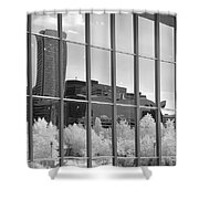 Baltimore Skyline Shower Curtain