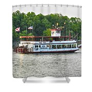 Bama Belle On The Black Warrior River Shower Curtain