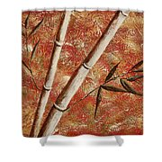 Bamboo 2 Shower Curtain
