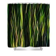 Bamboo In Motion Shower Curtain