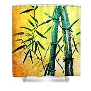 Bamboo Magic Shower Curtain