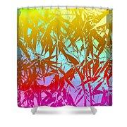 Bamboo Study 7 Shower Curtain
