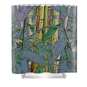 Bamboo Study 9 Shower Curtain by Tim Allen