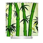 Bamboos Shower Curtain