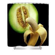 Banana And Honeydew Shower Curtain