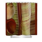 Banana Composition II Shower Curtain