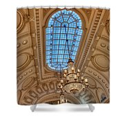 Bancroft Hall Shower Curtain