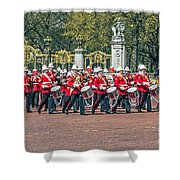 Band Of The Guard Shower Curtain