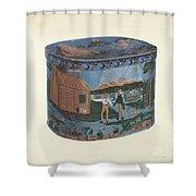 Bandbox Design Shower Curtain