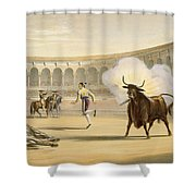Banderillas De Fuego, 1865 Shower Curtain
