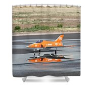 Bandit Squared Shower Curtain